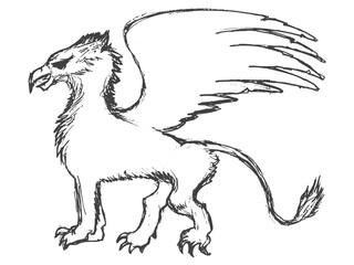 griffin mythological animal