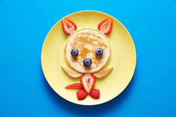Animal shaped food for kids