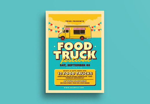 Food Truck Flyer Layout 1