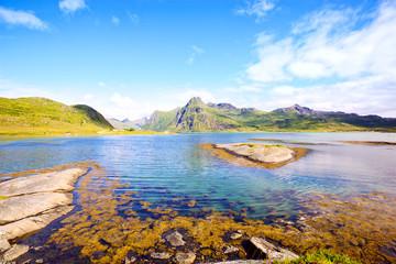 Fotomurales - Landscape of Lofoten Islands, Norway