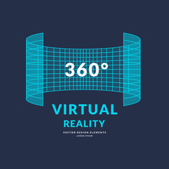Virtual Reality and new technologies for games. Modern entertainment complex.