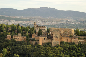 Views of Alhambra, Granada
