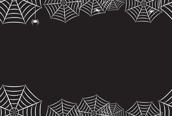 Spider Web Horizontal Repeating Reverse Background 2