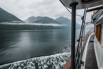Boat ride adventure through the British Columbia's Great Bear Rainforest.