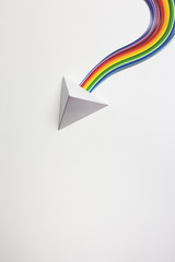 Paper Prism and Paper Rainbow...