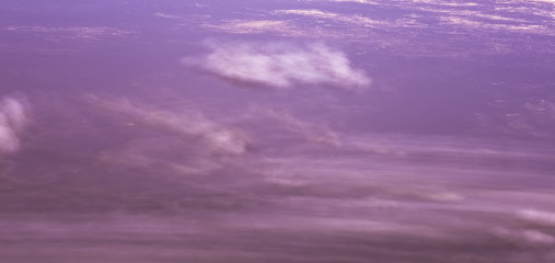 very beautiful clouds. purple clouds pictures from space.