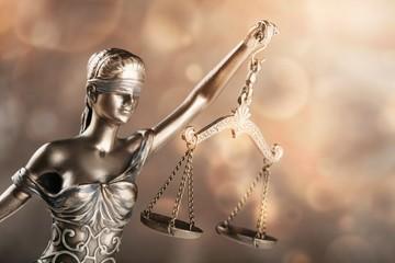Statue justice.