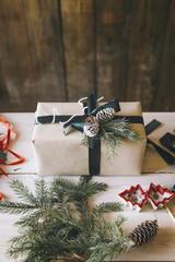 Handmade decorated Christmas gift