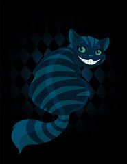 Poster Fairytale World Cheshire Cat