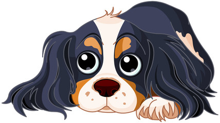 Canvas Prints Fairytale World Spaniel Dog