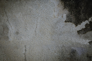 Background cement floor or gray with black background.Or abstract gray space