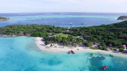 Tobago Cays - sky view