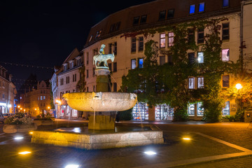 Eselsbrunnen, Alter Markt, Halle (Saale)