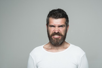 Man with long beard and mustache