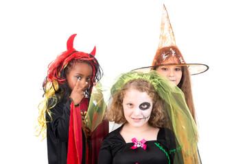 Kids in Halloween