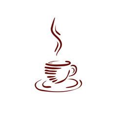 coffee art logo