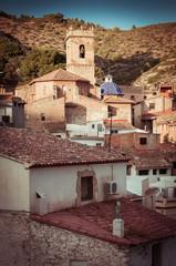 Church of Borriol at Castellón, Spain.