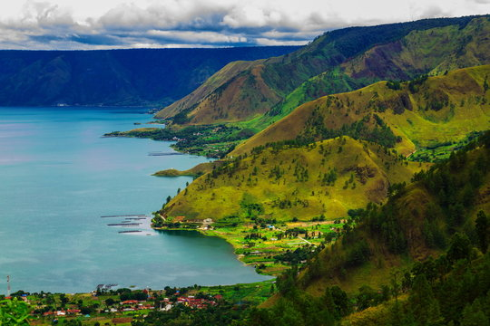 Lake toba, medan, Indonesia