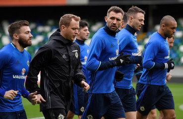 2018 World Cup Qualifications - Europe - Northern Ireland Training