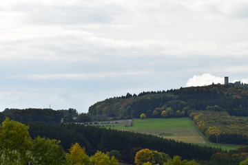 Eifellandschaft am Nürburgring