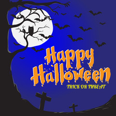 sg171004-Halloween Background - Vector Illustration