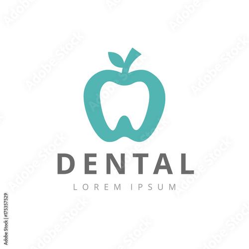 dental logo template creative dental clinic logotype vector