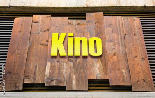 Kino Schild