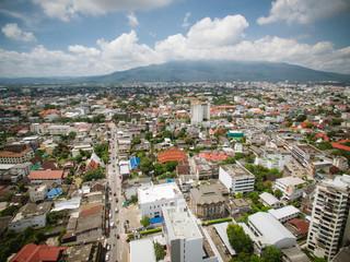 Aerial of Thailand