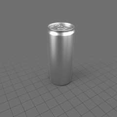250 milliliter beverage can