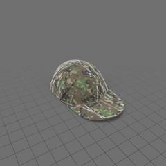 Camouflage baseball hat 1