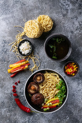 Asian vegan noodles
