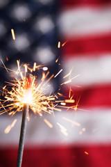 Fourth of July Sparkler