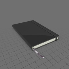 Notebook with elastic strap 1