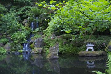 Pagoda & Falls