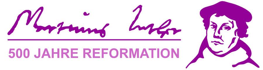 martin luther signatur - 500 jahre reformation