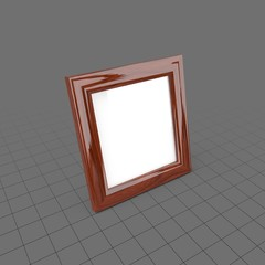 Small desktop picture frame