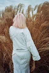 girl in the bush