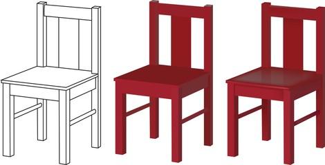 3d models chair