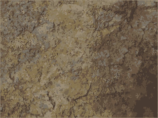 posterized brown dirt stone granite texture background
