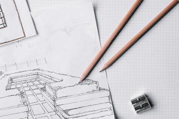 a sketch of a plan for a vegetable garden