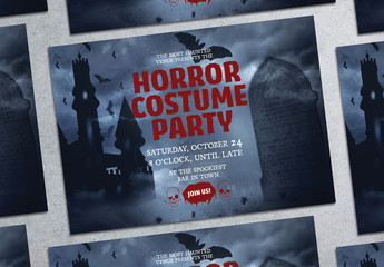 Halloween Party Flyer Layout 9