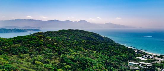 view from mount Tateishi above Itoshima, Fukuoka, Japan