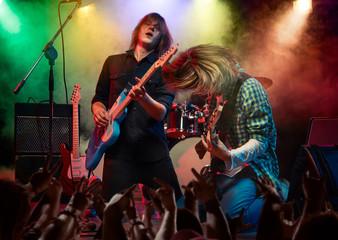 Rock show.