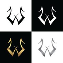 Initial W Logo