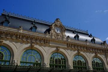 Ancienne gare à Lyon, France