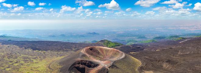 Volcano Etna in Sicily, Italy