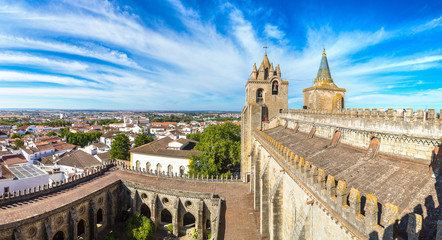 Fotomurales - Cathedral of Evora, Portugal