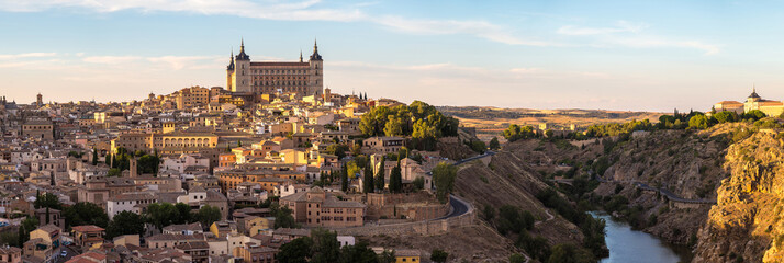 Fotomurales - Cityscape of Toledo, Spain