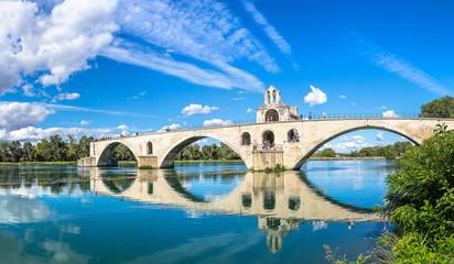 Saint Benezet bridge in Avignon Fototapete