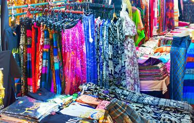 Thailand night market background